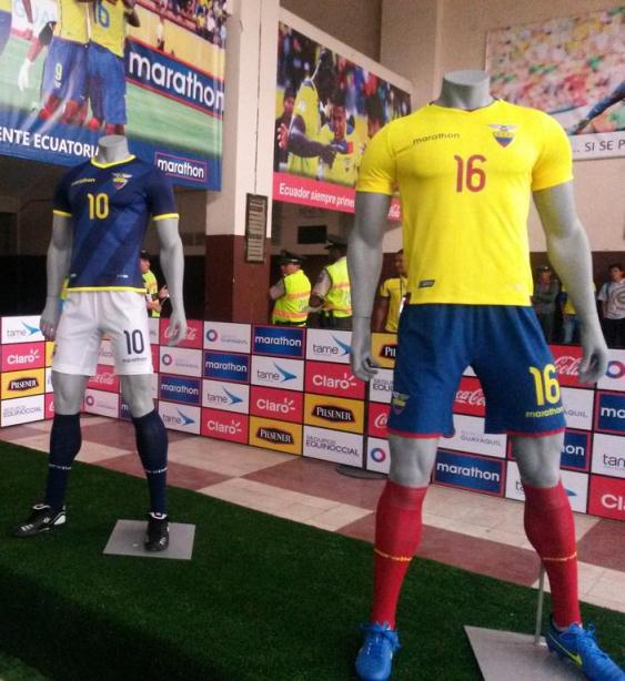New Ecuador Jerseys 2015-2016- Marathon Ecuador Shirts 2016 Home Away
