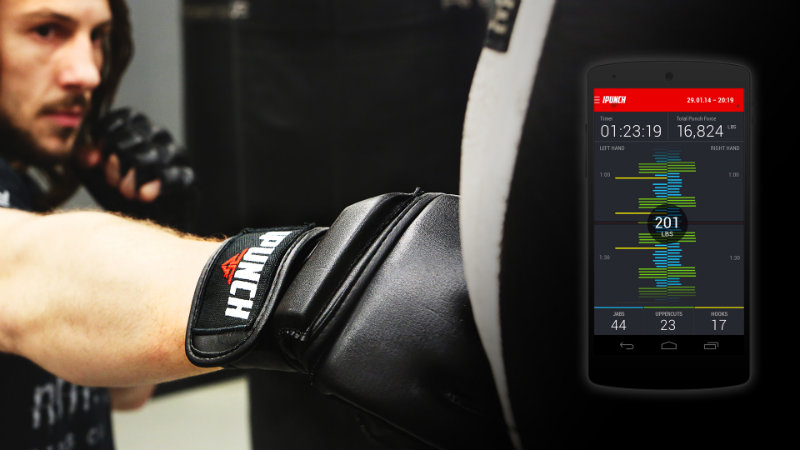 iPunch smart gloves to help you hit harder