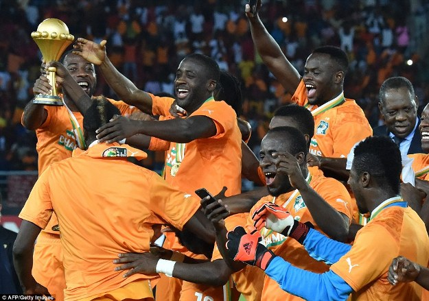Ivory Coast team won  afcon 2015