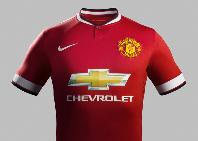 70f91993896 Manchester United 2014-2015 jerseys released