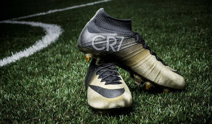 1f2e8d073e Nike unveiled Mercurial Superfly CR7 Rare Gold Boots to celebrate Cristiano