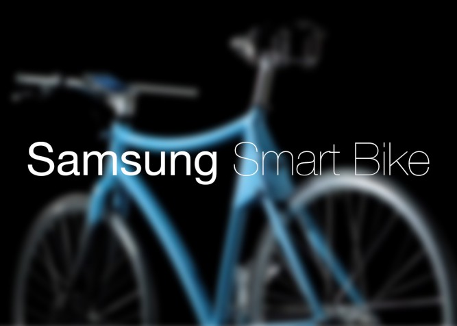 Samsung' Smart Bike concept for a better cycling
