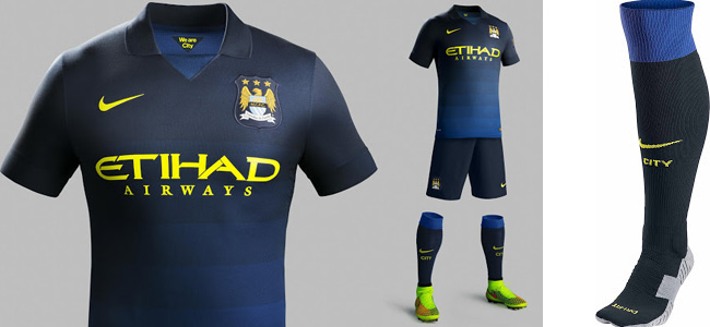 hot sale online 3b1ec 377e6 NEW MANCHESTER CITY 2014-2015 HOME AND AWAY JERSEYS | Yes We ...