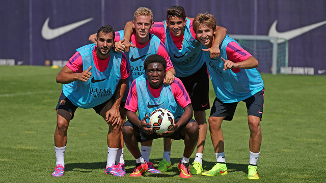 IS BARCELONA 'B' READY TO FILL THE BAN GAP?
