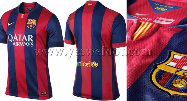 83f8e6d7d FC Barcelone 2014-2015 jersey