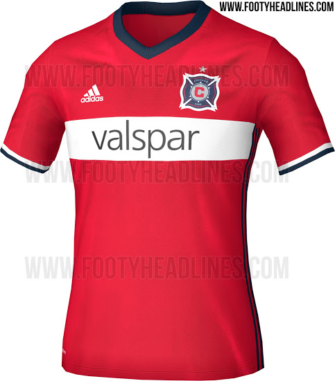 Chicago Fire 2016 Home Kit