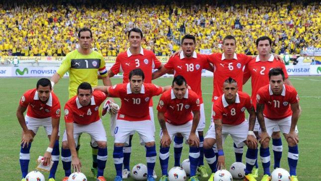 Chile named 23-man squad for 2014 World Cup