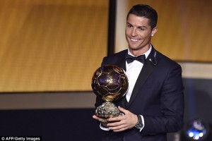 cr7 ballon dor 2014