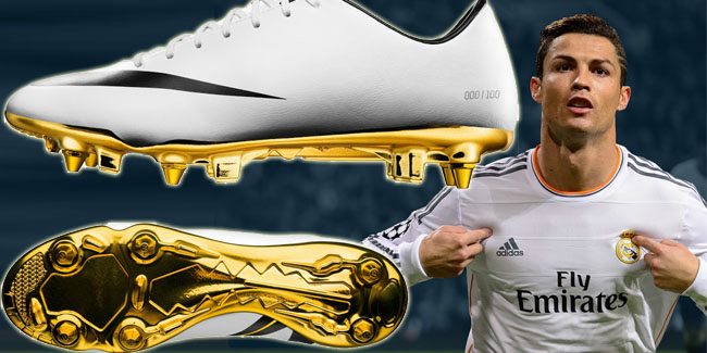 6535a4ea61235d ... Nike released white-gold Cristiano Ronaldo 2014 limited edition of  Vapor Mercurial IX CR7. Crisstiano ,2014 boots ,Vapor Mercurial IX CR7 ...