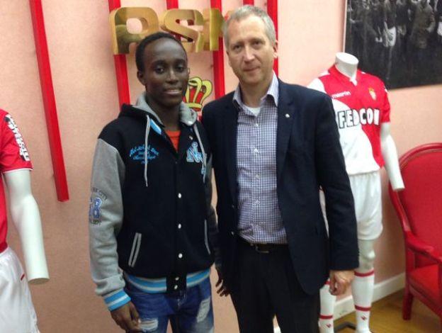 GHANA'S DAVID MILLS READY TO STEP INTO MONACO FC FIRST TEAM