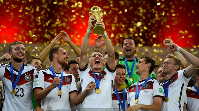 Germany crowns  2014 FIFA World Cup