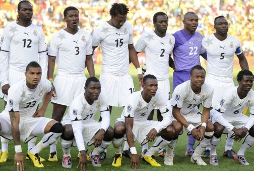 Ghana named 25-man squad to face Egypt in first leg play-offs