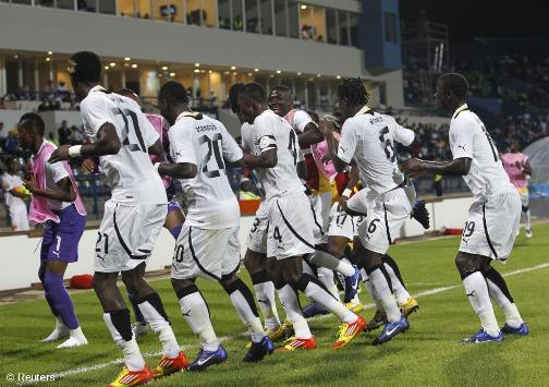 2014 World Cup Qualifying : Black Stars defeat Zambia to reach third round