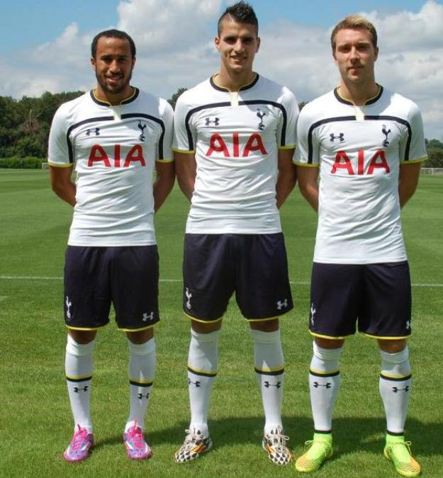 2594bc62bdebe New Tottenham 2014-2015 home and away jerseys | Yes We Foot Sports