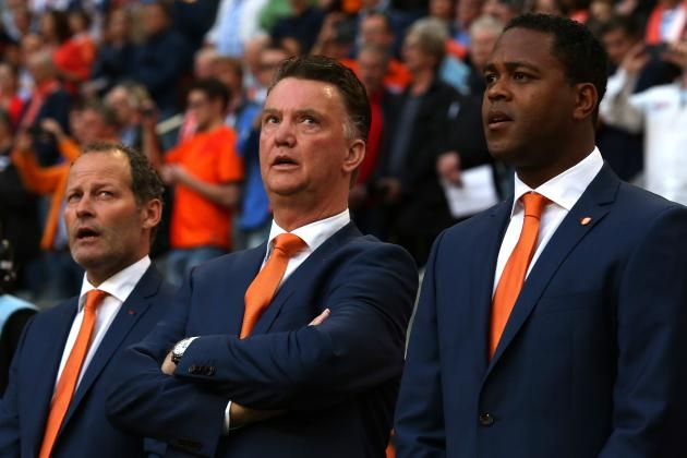 Netherlands announce 23-man squad for World Cup 2014
