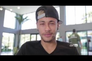 neymar message