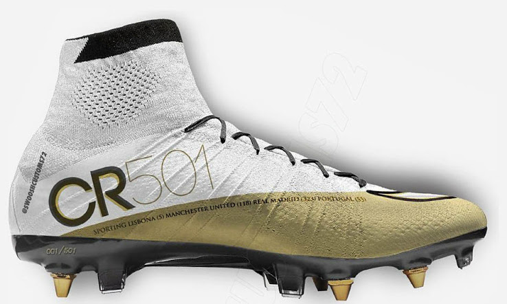 Nike Mercurial Superfly 'CR 501' Concept Cleats