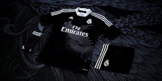 Real Madrid's Awesome New Champions League Third jersey with a Dragon On It