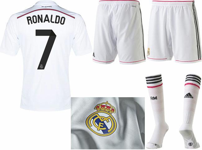 7eedaa533 Real Madrid 2014-2015 Home and Away jerseys!