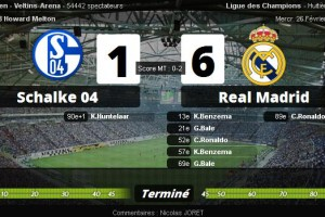schalke real madrid video