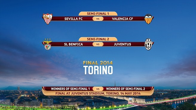 semi final europa league 2014