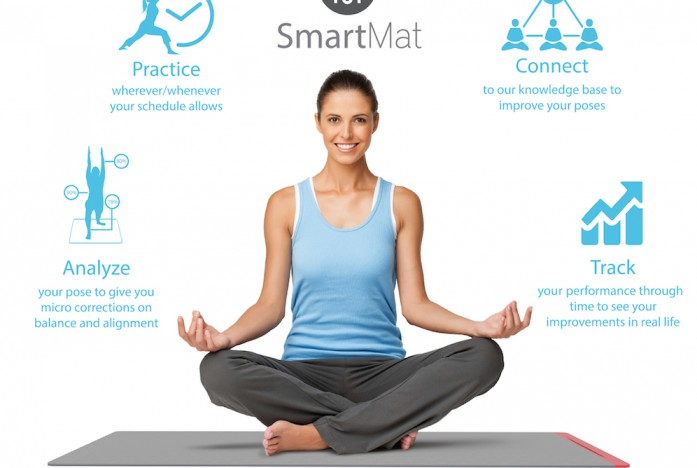 SmartMat helps you perfect your yoga poses
