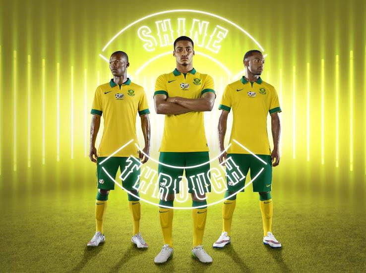 South Africa 2015 new Nike jersey unveiled
