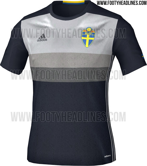 This is the new Sweden Euro 2016 Away Jersey.