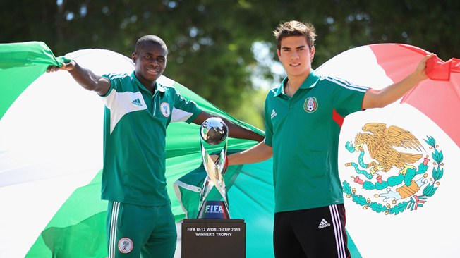 FIFA U-17 World Cup UAE 2013 final game: Nigeria-Mexico