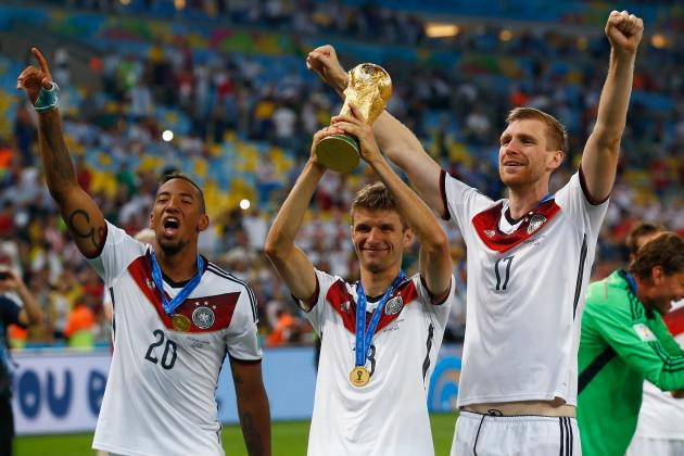 FIFA rankings of the 32 World Cup teams
