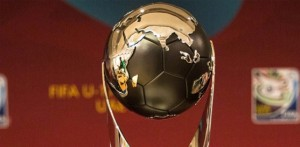 world cup u17 FIFA trophy 2013