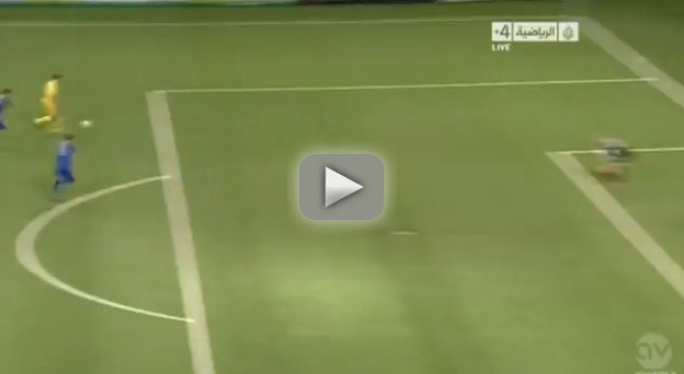 Zlatan Ibrahimovic :an amazing goal after 26 seconds . The video