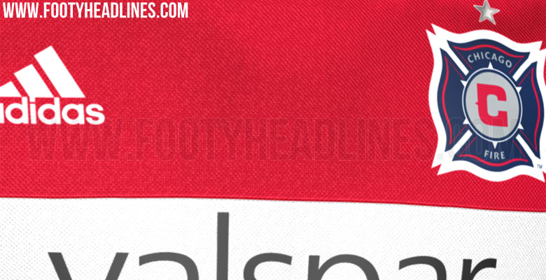 Chicago Fire 2016 Home jersey Leaked