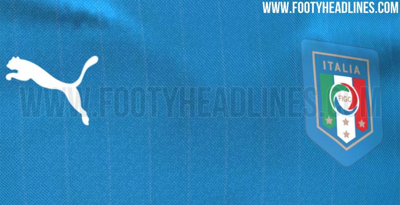 Puma Italy Euro 2016 jersey Leaked