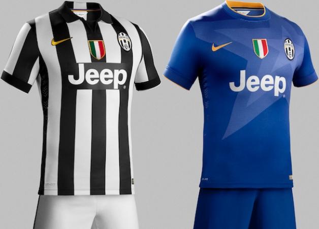 JUVENTUS 2014-2015 home and away jerseys