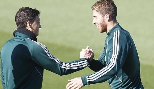 sergio ramos and ozil